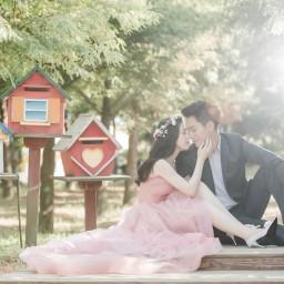 【婚紗攝影】肉肉新娘必看! 這一件禮服讓妳瞬間瘦5公斤!