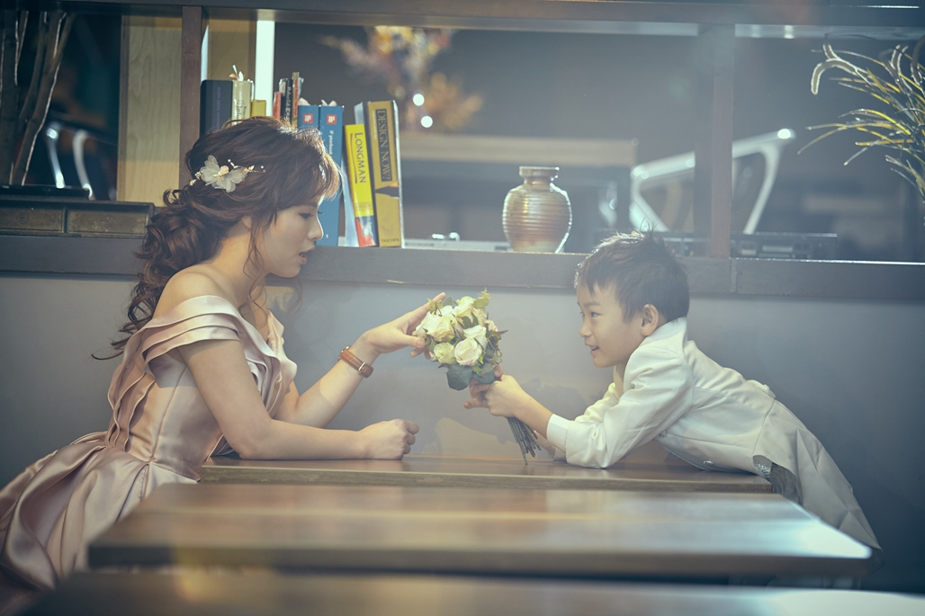 親子照,親子寫真,婚紗照風格,自助婚紗,qjf05