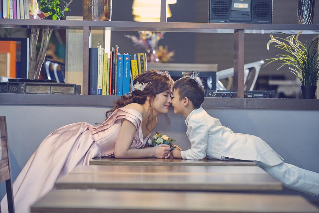 親子照,親子寫真,婚紗照風格,自助婚紗,qjf19
