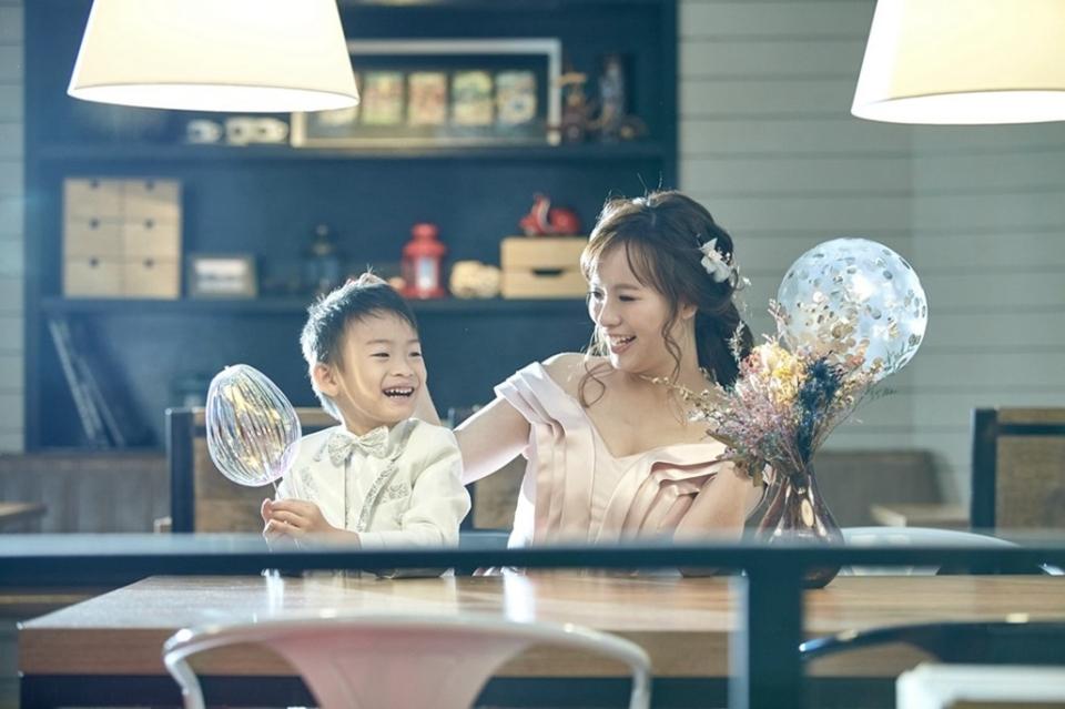 親子照,親子寫真,婚紗照風格,自助婚紗,qjf06