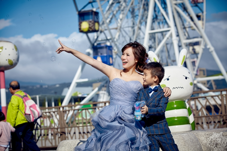親子照,親子寫真,婚紗照風格,自助婚紗,qjf22