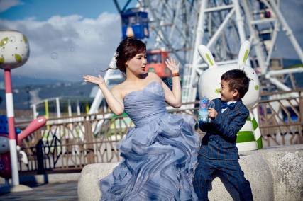 親子照,親子寫真,婚紗照風格,自助婚紗,qjf07