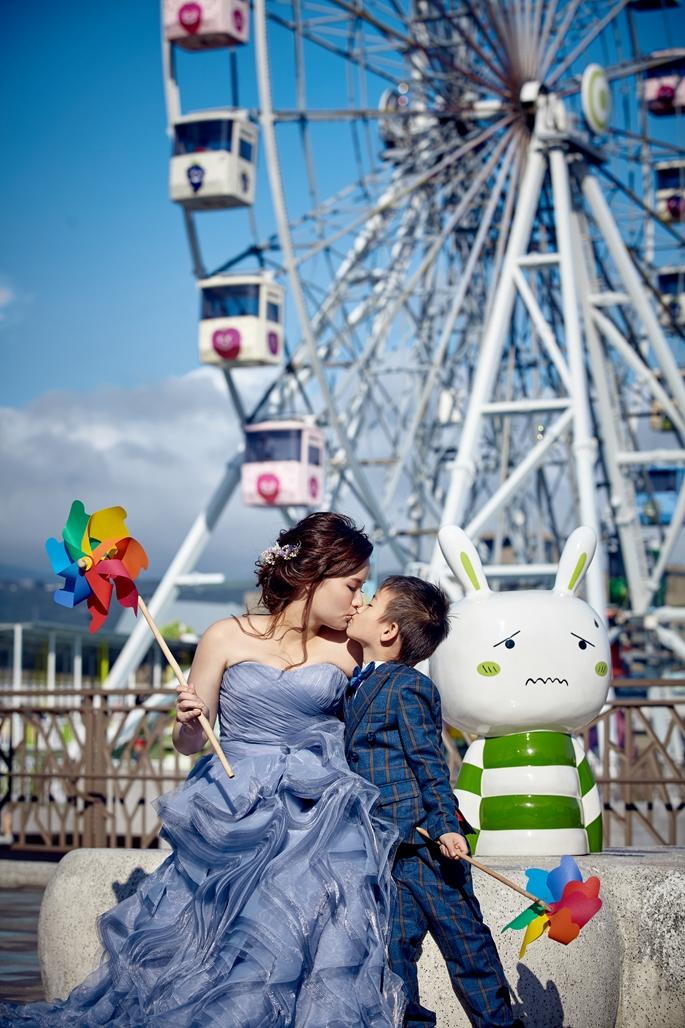 親子照,親子寫真,婚紗照風格,自助婚紗,qjf08