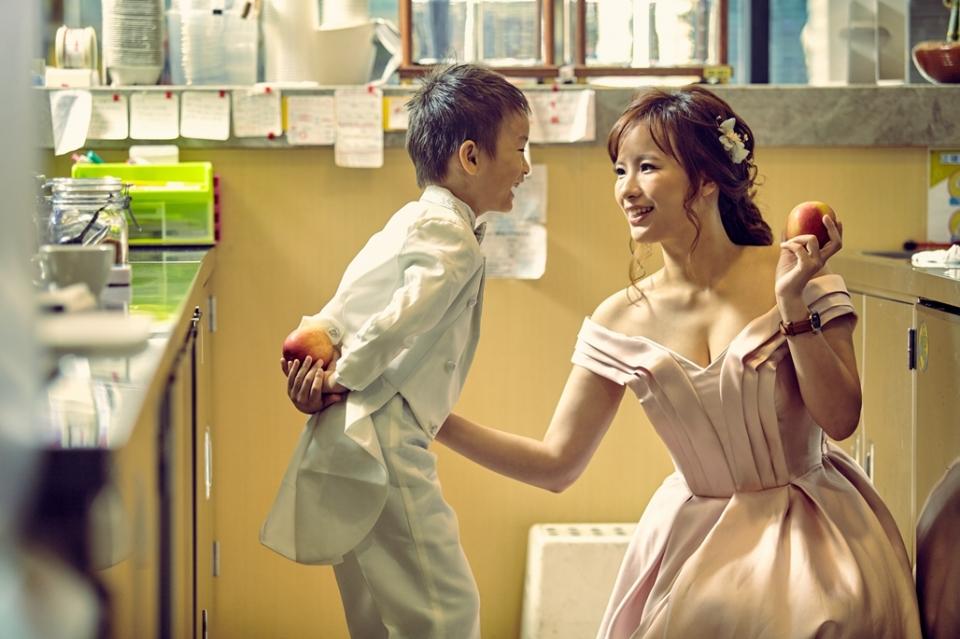 親子照,親子寫真,婚紗照風格,自助婚紗,qjf03