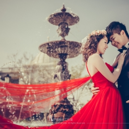 【自助婚紗】奇美博物館婚紗照精選—鏡頭下的20世紀的希臘古羅馬