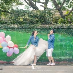 【自助婚紗攝影】十種技巧拍出最俏皮的氣球婚紗照