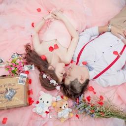 【自助婚紗】婚紗照唯美的秘訣—「花瓣」婚紗照超實用介紹