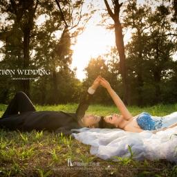 【婚紗攝影】藍色婚紗穿搭秘訣&景點搭配技巧