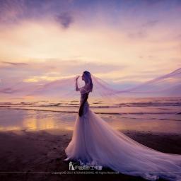 【自助婚紗】七種風格詮釋頭紗的夢幻—頭紗款式詳解