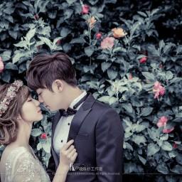 【自助婚紗】短髮也可以拍婚紗?!新娘短髮造型秘笈大公開