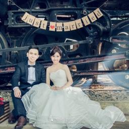 【自助婚紗】鐵道婚紗照景點清單,鐵道迷必備婚紗攝影懶人包!
